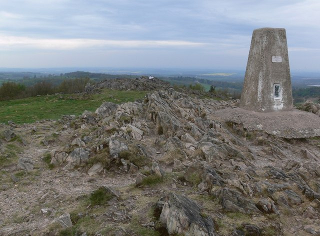 Beacon Hill summit in Leicestershire.