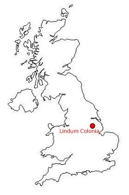 uk map lindum